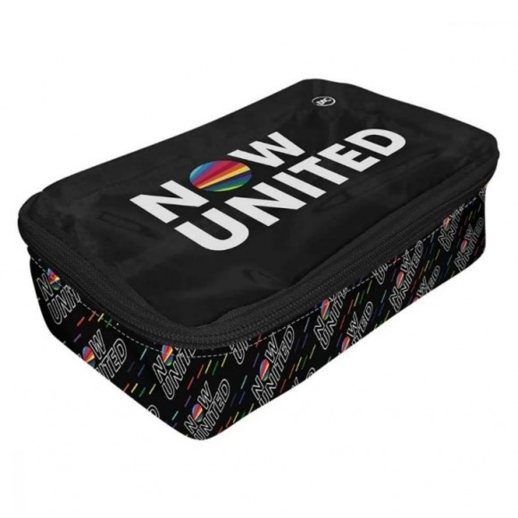 Estojo Escolar Now United Preto Dac 3218